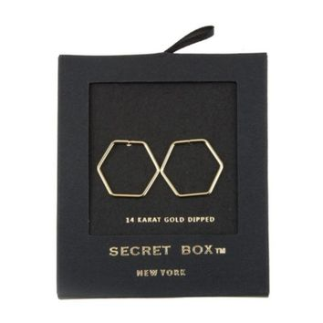 Blackbox Octagon Post Earring