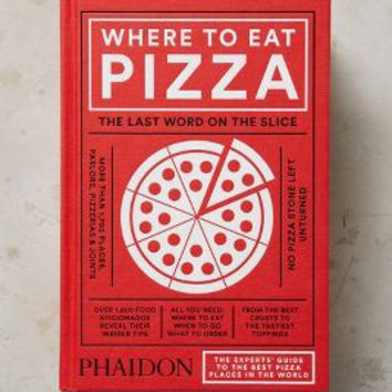 Where To Eat Pizza by Anthropologie in Red Size: One Size Books
