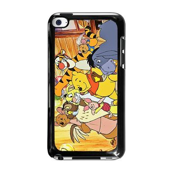 WINNIE THE POOH AND FRIENDS Disney iPod Touch 4 Case Cover