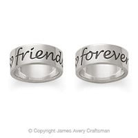 """Friends Forever"" Band from James Avery"