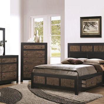 Cameron Queen Size Storage Bed