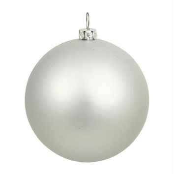 Christmas Ornament - Shatterproof Silver