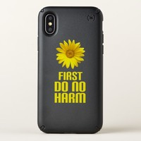 first do no harm speck iPhone x case