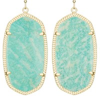Danielle Earrings in Amazonite - Kendra Scott Jewelry
