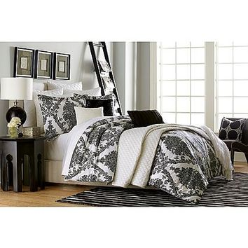 Jaclyn Smith Antiqued Scrolls Comforter Set