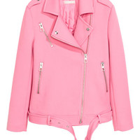 Biker jacket - Pink - | H&M GB