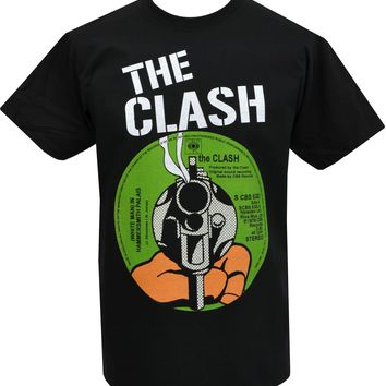 SHIRT THE CLASH Men's Record Cover Punk Rock Band T-Shirt Cotton Men Clothing (S-3XL)