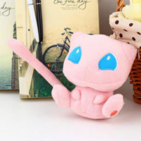 POKEMON 12cm Mew Push Doll Toys