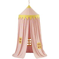 Home Sweet Play Home Canopy (Pink Polka Dot) in Play Houses & Tents | The Land of Nod