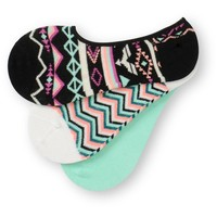 Empyre Girl 3 Pack Darlin Dalilah No Show Socks