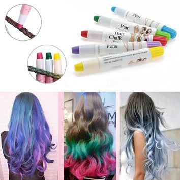 Beauty Temporary Super Comfortable Dye Colored Hair Pastel Hair Color Without Alcohol Crayon For The Hair High Quality