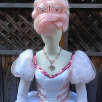 Original Character - Peppermint Candy Cane Princess Holiday Better than an Elf Costume Gown Adult Size