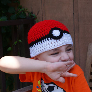 Gotta Catch Em All Hat, Cosplay beanie, Gifts for Him or Her, Video Game Fandom Accessory
