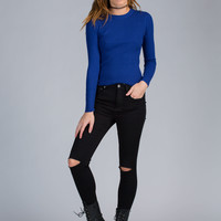 Just Work It Rib Knit Top