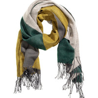 H&M Color-block Scarf $12.99