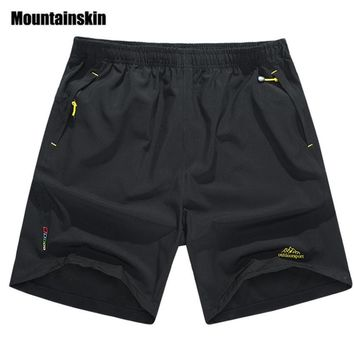 Mountainskin Summer Men's Quick Dry Shorts 8XL 2017 Casual Men Beach Shorts Breathable Trouser Male Shorts Brand Clothing SA198