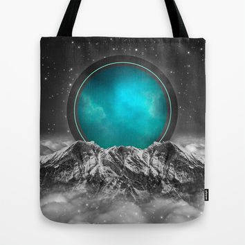 Fade Away (Lunar Eclipse) Tote Bag by Soaring Anchor Designs