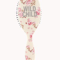 Wild Child Rose Paddle Brush