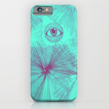 Uncommon Knowledge - Teal iPhone & iPod Case by Ducky B