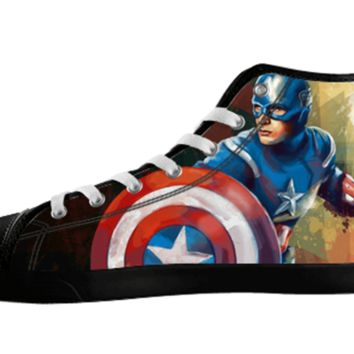Captain America Bucky Barns Shoe