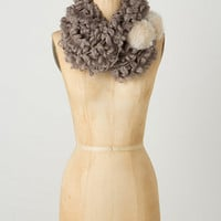 Fronded Pom Scarf