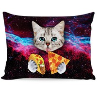 Taco Cat Pillow Case