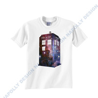 public police box galaxy Custom Tshirt for men's , T shirt Cotton, Funny T shirt, Awesome T shirt, best design and clothing