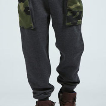Camo Bellow Pocket Joggers