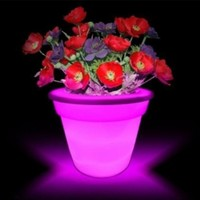 Instapark® Flower Power Color changing LED Plant Pot