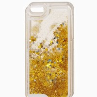 Liquid Glitter iPhone 5/5S, 6 Case | Poolside Chic -- Tech Accessories | charming charlie