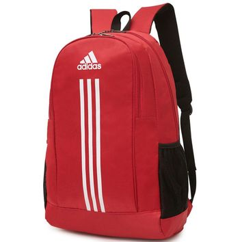 ADIDAS 2018 men and women couple shoulder bag casual travel back F-A30-XBSJ red