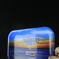 Elements Small Metal Rolling Tray