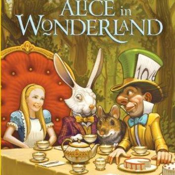 Alice in Wonderland Stepping Stone Book 1