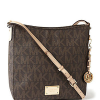 MICHAEL Michael Kors Signature Large Jet Set Messenger Bag | Dillards.com