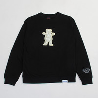 Grizzly Griptape x Ben Baller Crewneck Sweatshirt in Black