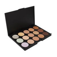 niceEshop Professional 15 Color Concealer Camouflage Makeup Palette