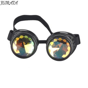 Hot Fashion Steampunk Goggles Glasses Welding Steampunk Gothic Cosplay Goggles Eyewear Vintage New