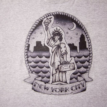 Statue of Liberty Type Crewneck by Jeremy Nieves x Stereotype Co