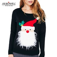 Snowman Ugly Christmas Cardigan Sweater