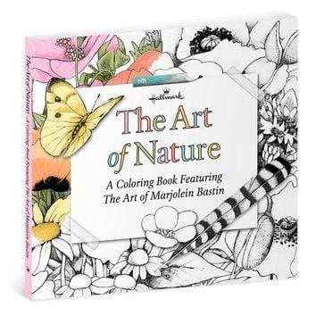 The Art of Nature—A Coloring Book Featuring the Art of Marjolein Bastin