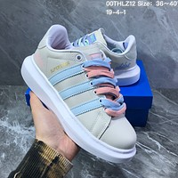 HCXX A1078 Adidas Fashion Outdoor Platform Casual Skate shoes colorful