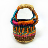 Grass Basket Miniature - Handmade in Bolgatanga, Ghana West Africa