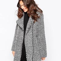 Ichi | Ichi Wool Mix Coat at ASOS