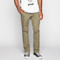 Vans Excerpt Mens Chino Pants Army  In Sizes