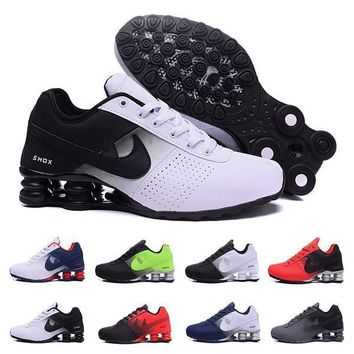 2017 Shox Deliver 809 Man Running Shoes black white red blue Men womens Sneakers Shox