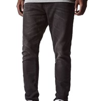 Bullhead Denim Co Black Rinse Jogger Jeans - Mens Jeans - Black