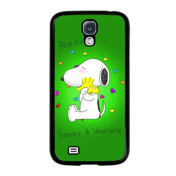 PEANUTS SNOOPY AND WOODSTOCK Samsung Galaxy S4 Case