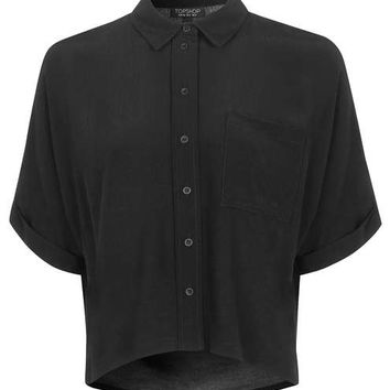 Short Sleeve Roll Up Shirt - New In This Week - New In