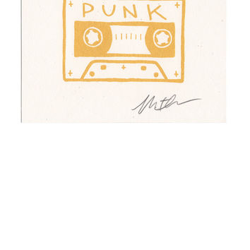 Cassette Punk 2nd Edition Print