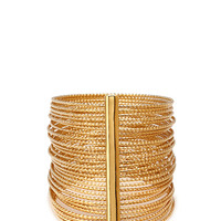 FOREVER 21 Bar Bangle Set Gold One